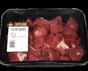 carne para guisar de ternera troceada