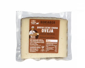 queso leche cruda oveja bonsabor