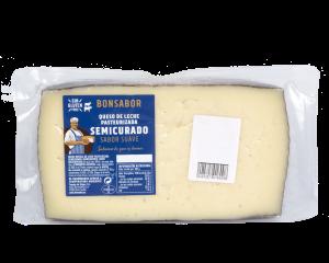 queso leche pasteurizada semi bonsabor